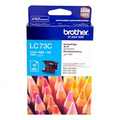 Brother LC-73C High-Yield Cyan Ink