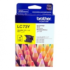 Brother LC-73Y High Yield Yellow Ink